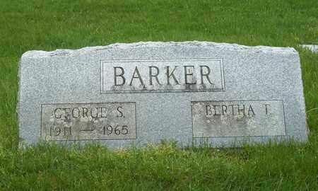 BARKER, GEORGE S. - Suffolk County, New York | GEORGE S. BARKER - New York Gravestone Photos