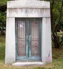 BARNES, W. F. - Suffolk County, New York | W. F. BARNES - New York Gravestone Photos