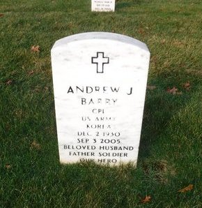BARRY, ANDREW J - Suffolk County, New York | ANDREW J BARRY - New York Gravestone Photos