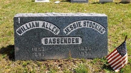 BASSENDEN, WILLIAM ALLEN - Suffolk County, New York | WILLIAM ALLEN BASSENDEN - New York Gravestone Photos