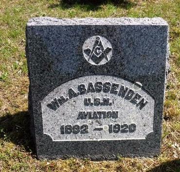 BASSENDEN, WILLIAM A - Suffolk County, New York | WILLIAM A BASSENDEN - New York Gravestone Photos