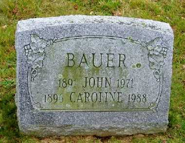 BAUER, JOHN - Suffolk County, New York | JOHN BAUER - New York Gravestone Photos