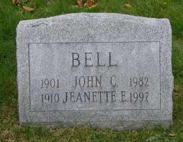 BELL, JEANETTE E - Suffolk County, New York | JEANETTE E BELL - New York Gravestone Photos