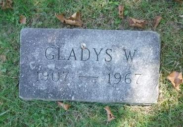 BELLOWS, GLADYS W - Suffolk County, New York | GLADYS W BELLOWS - New York Gravestone Photos