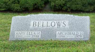 BELLOWS, ARCHIBALD H. - Suffolk County, New York | ARCHIBALD H. BELLOWS - New York Gravestone Photos
