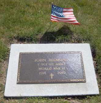 BELMONT (WWII), JOHN - Suffolk County, New York | JOHN BELMONT (WWII) - New York Gravestone Photos