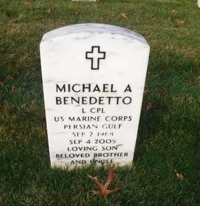BENEDETTO (PG), MICHAEL A - Suffolk County, New York   MICHAEL A BENEDETTO (PG) - New York Gravestone Photos