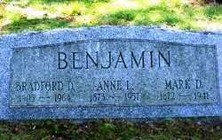BENJAMIN, ANNE L - Suffolk County, New York   ANNE L BENJAMIN - New York Gravestone Photos