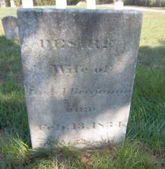 BENJAMIN, DESIRE - Suffolk County, New York | DESIRE BENJAMIN - New York Gravestone Photos