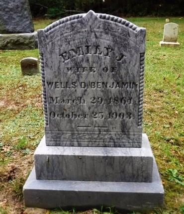 BENJAMIN, EMILY J - Suffolk County, New York   EMILY J BENJAMIN - New York Gravestone Photos