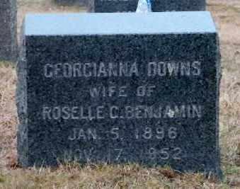 DOWNS, GEORGIANNA - Suffolk County, New York   GEORGIANNA DOWNS - New York Gravestone Photos