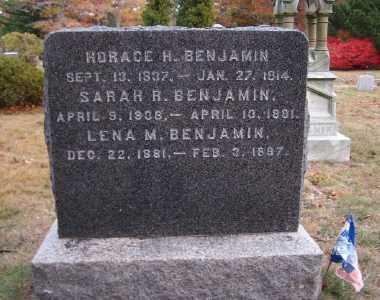 BENJAMIN, SARAH R - Suffolk County, New York | SARAH R BENJAMIN - New York Gravestone Photos