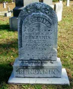 BENJAMIN, M. LOUISE - Suffolk County, New York | M. LOUISE BENJAMIN - New York Gravestone Photos
