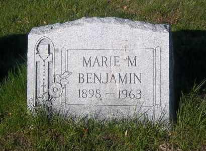BENJAMIN, MARIE M - Suffolk County, New York   MARIE M BENJAMIN - New York Gravestone Photos