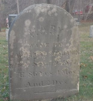 BENJAMIN, MARY - Suffolk County, New York | MARY BENJAMIN - New York Gravestone Photos