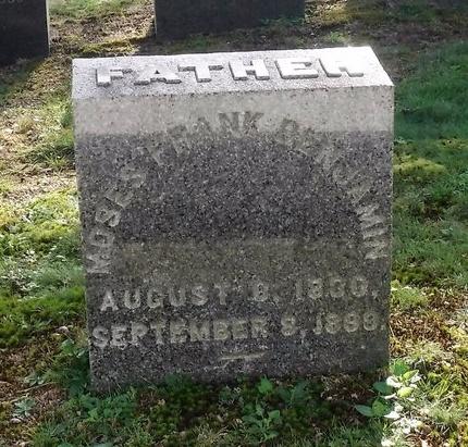 BENJAMIN, MOSES FRANK - Suffolk County, New York | MOSES FRANK BENJAMIN - New York Gravestone Photos