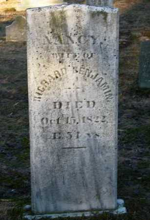 BENJAMIN, NANCY - Suffolk County, New York | NANCY BENJAMIN - New York Gravestone Photos