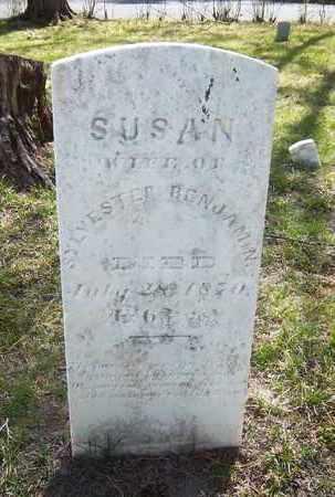 BENJAMIN, SUSAN - Suffolk County, New York | SUSAN BENJAMIN - New York Gravestone Photos