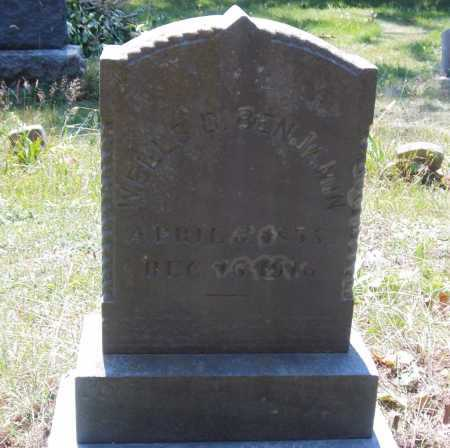 BENJAMIN, WELLS D. - Suffolk County, New York | WELLS D. BENJAMIN - New York Gravestone Photos