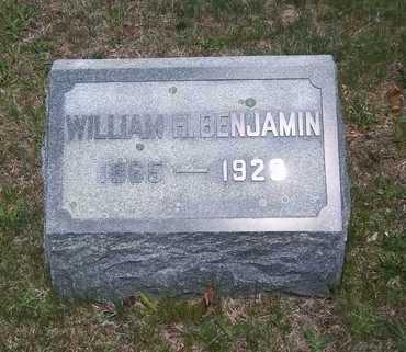 BENJAMIN, WILLIAM H. - Suffolk County, New York | WILLIAM H. BENJAMIN - New York Gravestone Photos