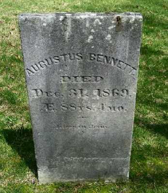 BENNETT, AUGUSTUS - Suffolk County, New York   AUGUSTUS BENNETT - New York Gravestone Photos