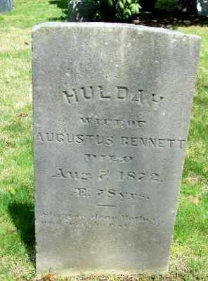 BENNETT, HULDAH - Suffolk County, New York | HULDAH BENNETT - New York Gravestone Photos