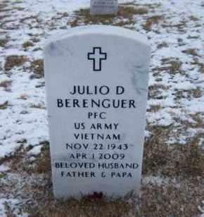 BERENGUER, JULIO D - Suffolk County, New York   JULIO D BERENGUER - New York Gravestone Photos