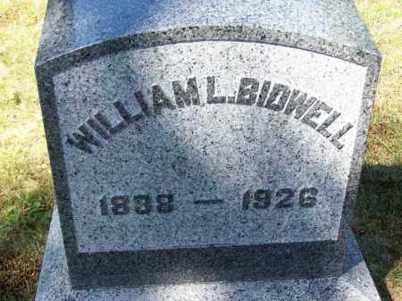 BIDWELL, WILLIAM L. - Suffolk County, New York   WILLIAM L. BIDWELL - New York Gravestone Photos
