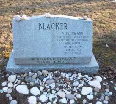 BLACKER, VIRGINIA ANN - Suffolk County, New York   VIRGINIA ANN BLACKER - New York Gravestone Photos