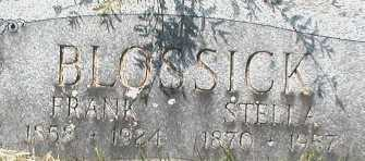 BLOSSICK, FRANK - Suffolk County, New York | FRANK BLOSSICK - New York Gravestone Photos