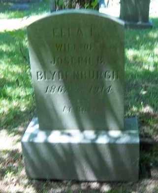 BLYDENBURGH, ELLA L. - Suffolk County, New York | ELLA L. BLYDENBURGH - New York Gravestone Photos