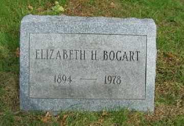 BOGART, ELIZABETH H. - Suffolk County, New York | ELIZABETH H. BOGART - New York Gravestone Photos