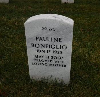 BONFIGLIO, PAULINE - Suffolk County, New York | PAULINE BONFIGLIO - New York Gravestone Photos