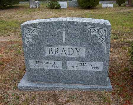 BRADY, IRMA A - Suffolk County, New York | IRMA A BRADY - New York Gravestone Photos