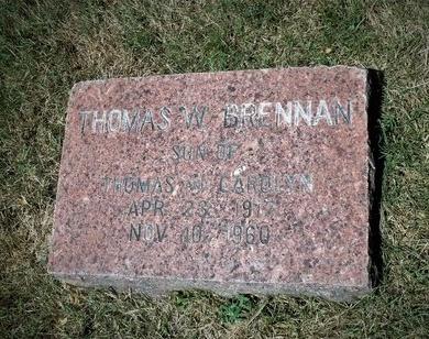 BRENNAN, THOMAS W - Suffolk County, New York | THOMAS W BRENNAN - New York Gravestone Photos