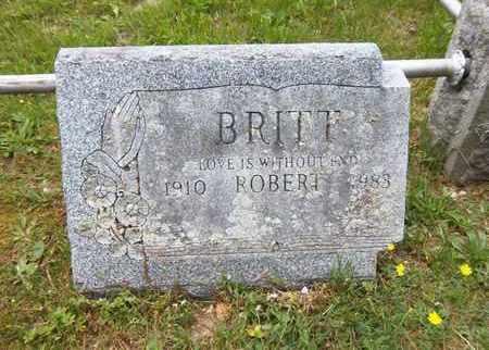 BRITT, ROBERT - Suffolk County, New York | ROBERT BRITT - New York Gravestone Photos