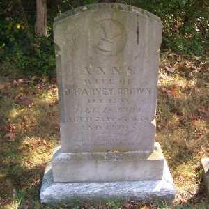 BROWN, ANNE - Suffolk County, New York | ANNE BROWN - New York Gravestone Photos