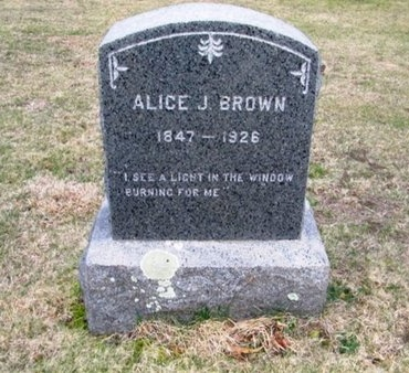 BROWN, ALICE J - Suffolk County, New York | ALICE J BROWN - New York Gravestone Photos