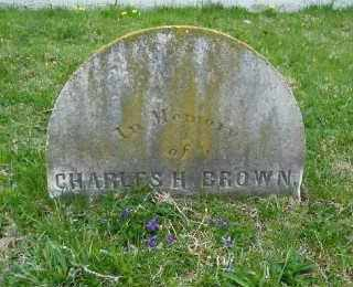BROWN, CHARLES H . - Suffolk County, New York | CHARLES H . BROWN - New York Gravestone Photos