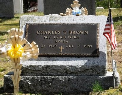 BROWN, CHARLES T - Suffolk County, New York | CHARLES T BROWN - New York Gravestone Photos