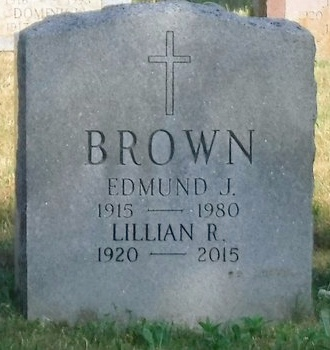 BROWN, LILLIAN R - Suffolk County, New York | LILLIAN R BROWN - New York Gravestone Photos
