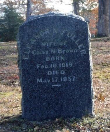 FULLER BROWN, ELEANOR N - Suffolk County, New York   ELEANOR N FULLER BROWN - New York Gravestone Photos