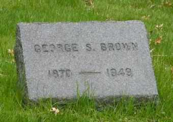 BROWN, GEORGE S - Suffolk County, New York | GEORGE S BROWN - New York Gravestone Photos