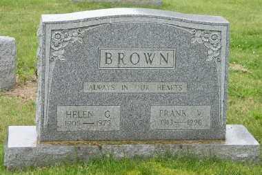 BROWN, HELEN F - Suffolk County, New York | HELEN F BROWN - New York Gravestone Photos