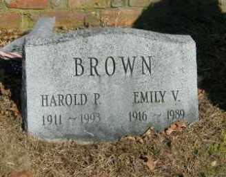 BROWN, HAROLD P. - Suffolk County, New York | HAROLD P. BROWN - New York Gravestone Photos
