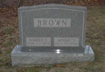 BROWN, HADLEY G - Suffolk County, New York | HADLEY G BROWN - New York Gravestone Photos