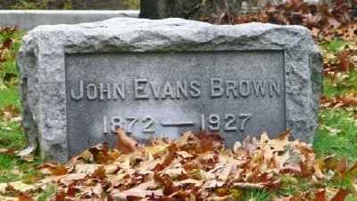 BROWN, JOHN EVANS - Suffolk County, New York | JOHN EVANS BROWN - New York Gravestone Photos