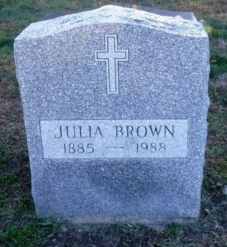 BROWN, JULIA - Suffolk County, New York | JULIA BROWN - New York Gravestone Photos