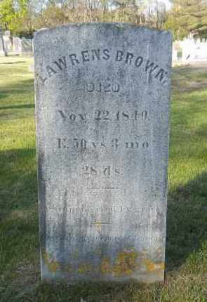 BROWN, LAWRENS - Suffolk County, New York | LAWRENS BROWN - New York Gravestone Photos