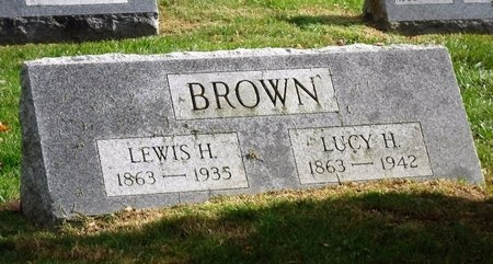 BROWN, LUCY H - Suffolk County, New York | LUCY H BROWN - New York Gravestone Photos